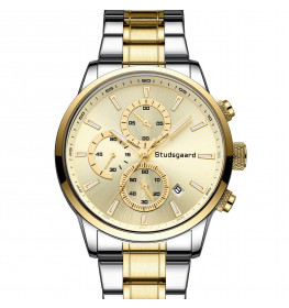 Studsgaard Chronograph Steel/Gold-04