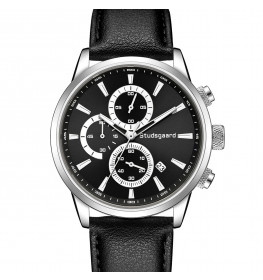 Studsgaard Black Leather Silver/Black-06
