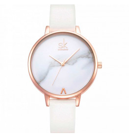 Sinobi Classic White Leather-032