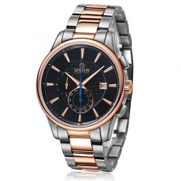 Ochstin chronograph Black/Gold Steel-20