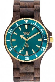 WeWOOD Date MB Choco Rough Emerald-20