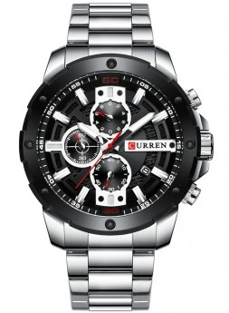 Curren Chrono Black/Steel-20
