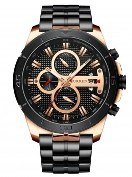 Curren Chrono Black/Gold-20