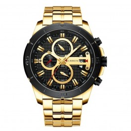 Curren Chrono Gold-20