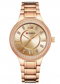 Curren Ladies Diamon Gold/Gold-20