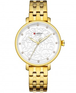 Curren Ladies Gold/White-20