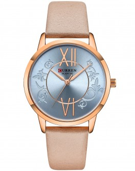Curren Ladies Leather Blue-20