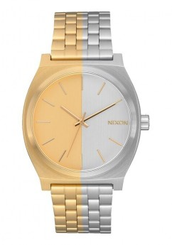 Nixon Time Teller Gold and Silver-20