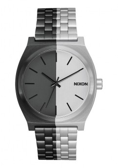 Nixon Time Teller Black And White-20