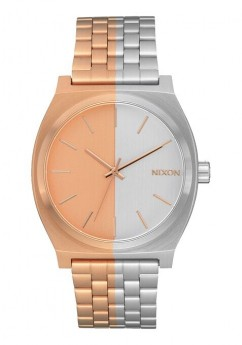 Nixon Time Teller Rose Gold And Silver-20