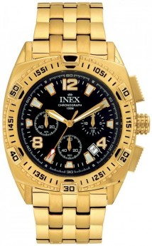 Inex Double Chrono Gold/Black-20