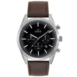 Inex Double Chrono Leather Brown-20