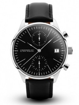 About Vintage 1844 Chronograph Steel Black-20