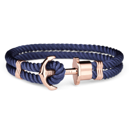 Paul Hewitt IP Blue Nylon Rose Gold-20