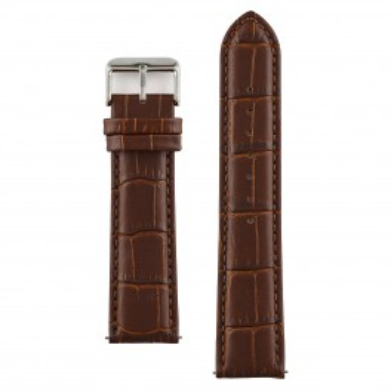 Vincero brun læderrem 22 mm silver-20