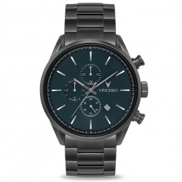 Vincero The Chrono Gunmetal Slate Steel-20