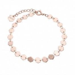 Cluse Essentielle Rose Gold All Hexagons Chain​