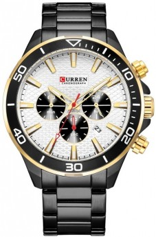 Curren Chrono White/Black-20