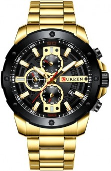 Curren Chrono Gold/Black-20