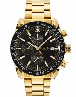 Dissing Chrono Black/Gold-20