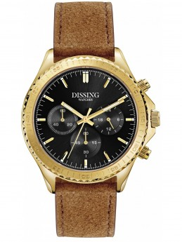 Dissing Chrono Leather Gold/Black-20