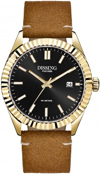 Dissing Date Leather Gold/Black-20