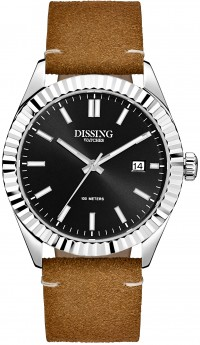 Dissing Date Leather Steel/Black-20