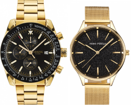 Dissing Chrono Black/Gold Megir Sparkling Mesh Gold/Black-20
