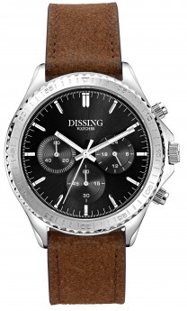 Dissing Chrono Leather Silver/Black-20