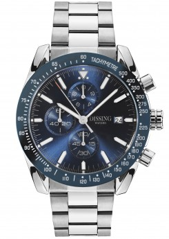 ** PRE-ORDER LEVERING 20 APRIL ** Dissing Chrono Blue/Steel-20