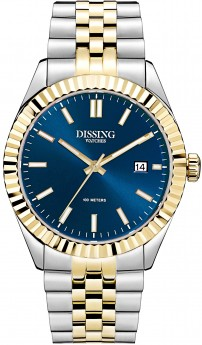 Dissing Two Tone Date Gold/Blue-20