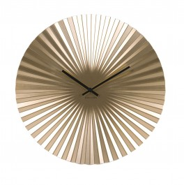 Karlsson Wall clock Sensu Steel Gold-20