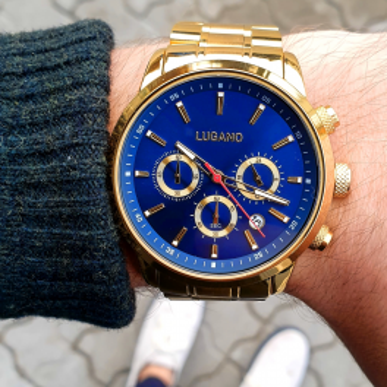 Herreur med flot blå skive fra Lugano-20