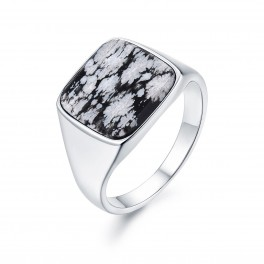 Northern Legacy Snowflake Signature Ring Silver-20