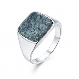 Northern Legacy Verde Signature Silver ring-20