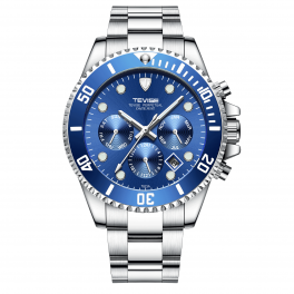 Tevise Perpetual Datejust Blue/Steel-20