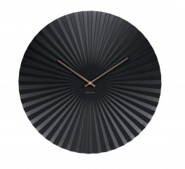 Karlsson Wall clock Sensu XL steel black-20