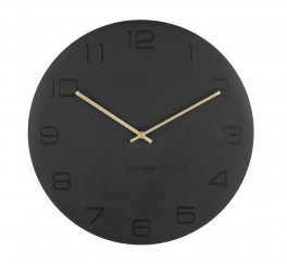 Karlsson Wall clock Vigorous (Sort)-20