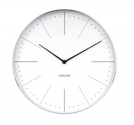 Karlsson Wall clock Normann station (Hvid)-20