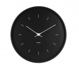 Karlsson Wall clock Butterfly Hands Black-20