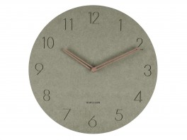 Karlsson Wall clock Dura Green-20