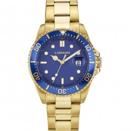 Lugano Diver Gold/Blue-20