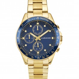 Lugano Chrono Gold/Blue-20