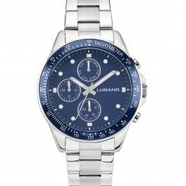 Lugano Chrono Steel/Blue-20