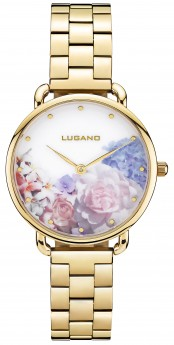 Lugano Gold Steel Floral-20