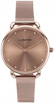 Lugano Rose Gold Mesh-20