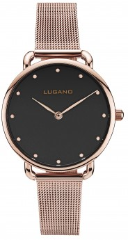 Lugano Rose Black Mesh-20