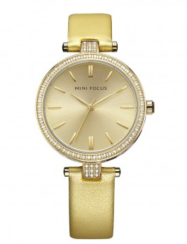 Megir Mini Focus Gold Leather-20