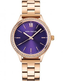 Megir Mini Focus MF0043 Rose Gold Blue Dial-20