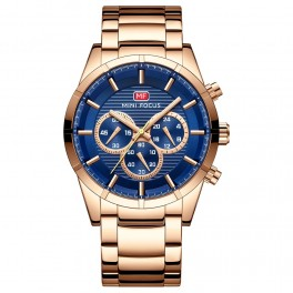Megir Mini Focus Chrono Gold/Blue-20